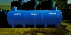 14m3 Yer Altı Atık Su Deposu