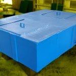 2200 Litre Özel İmalat Polyester Su Tankı