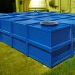 25 Ton Polyester Özel İmalat Foseptik Tankı