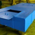 2750 Litre Fiberglas Özel İmalat Su Tankı